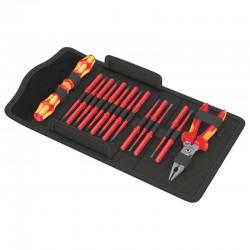 17 dalių įrankių rinkinys elektrikams WERA KK VDE 17 Extra Slim 1